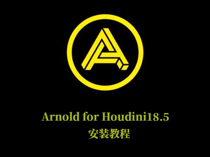 Arnold For Houdini18.5安装教程